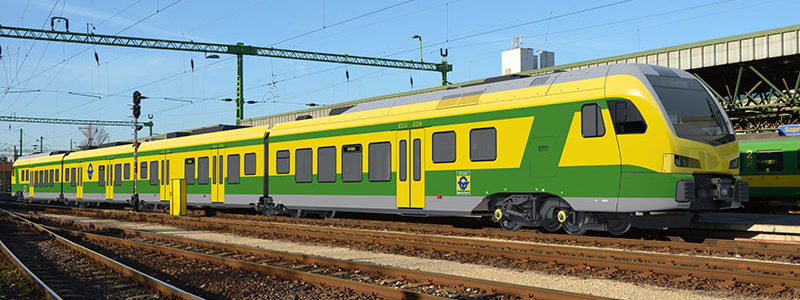 Hungarian GYSEV ordered 10 new generation FLIRT trains from Stadler